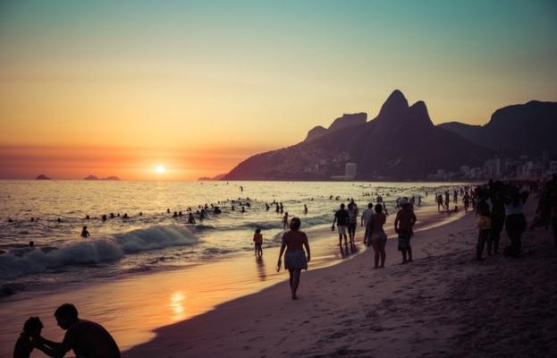 praia no Rio