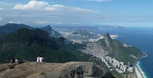 subir morro carioca paisagem